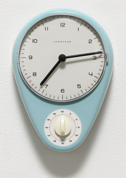 kitchen clock: Max Bill