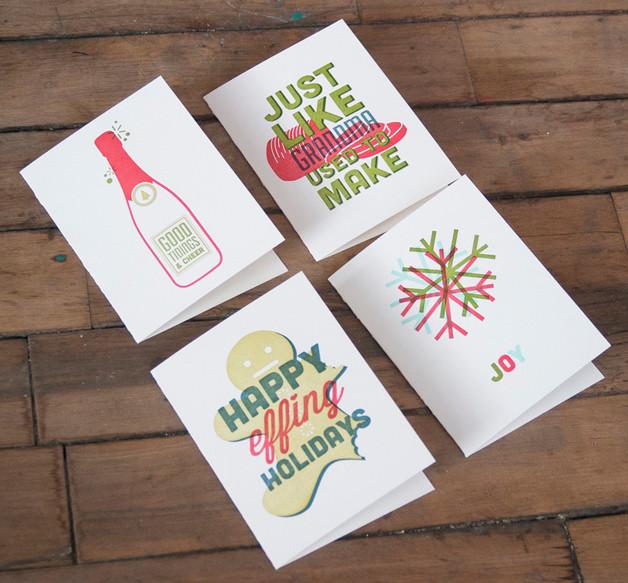 greeting card design; angelbomb