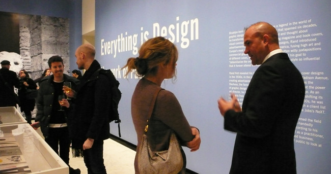 Everything Is Design, Paul Rand - Photo by Ellen Shapiro