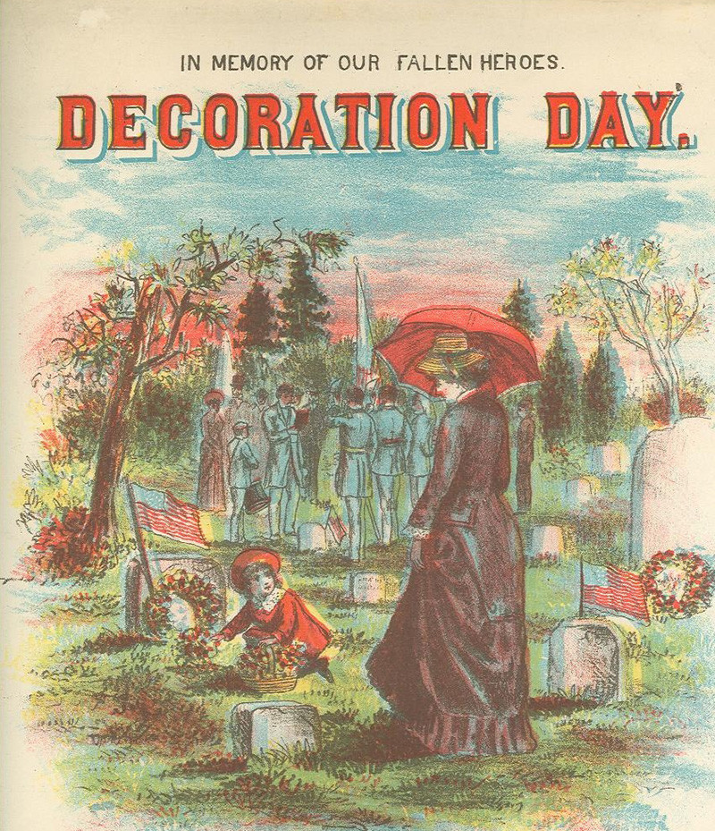 Decoration Days card