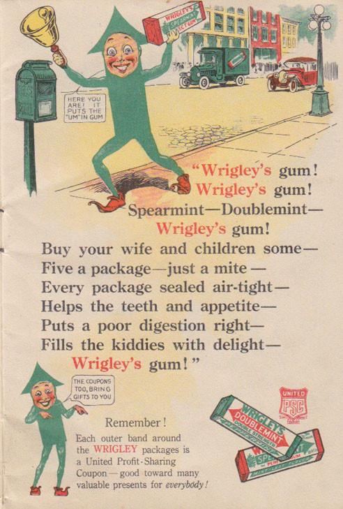 wrigleys 7