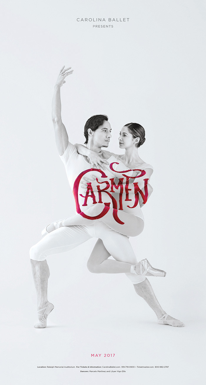 Carolina Ballet Posters