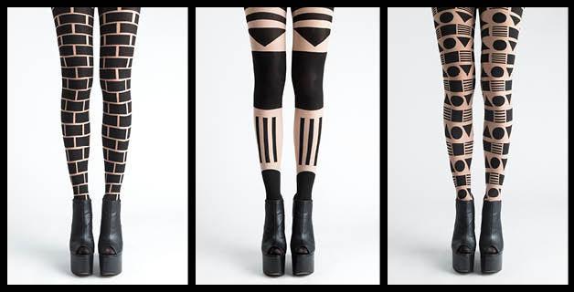 Pattern design tights
