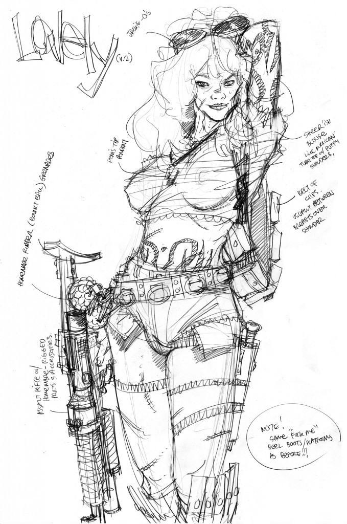 Nathan Fox drawings