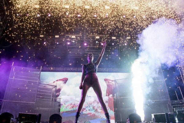Halsey at Coachella, in Indio, CA, USA, on 22 April, 2016. | Copyright Coachella Copyright Goldenvoice