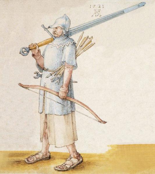 Dürer, created the following year, 1521