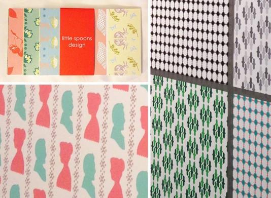 Little Spoons Design, an independent designer exhibiting at Printsource, July 2013