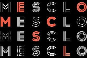 Type Tuesday: Mesclo's Delightful Geometry