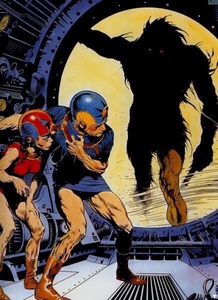 Buck Rogers by Frazetta.