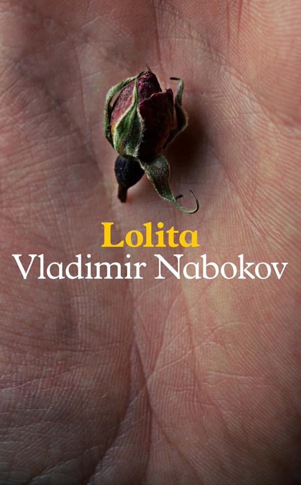 Cover design of Vladimir Nabokov's Lolita by Rachel Berger