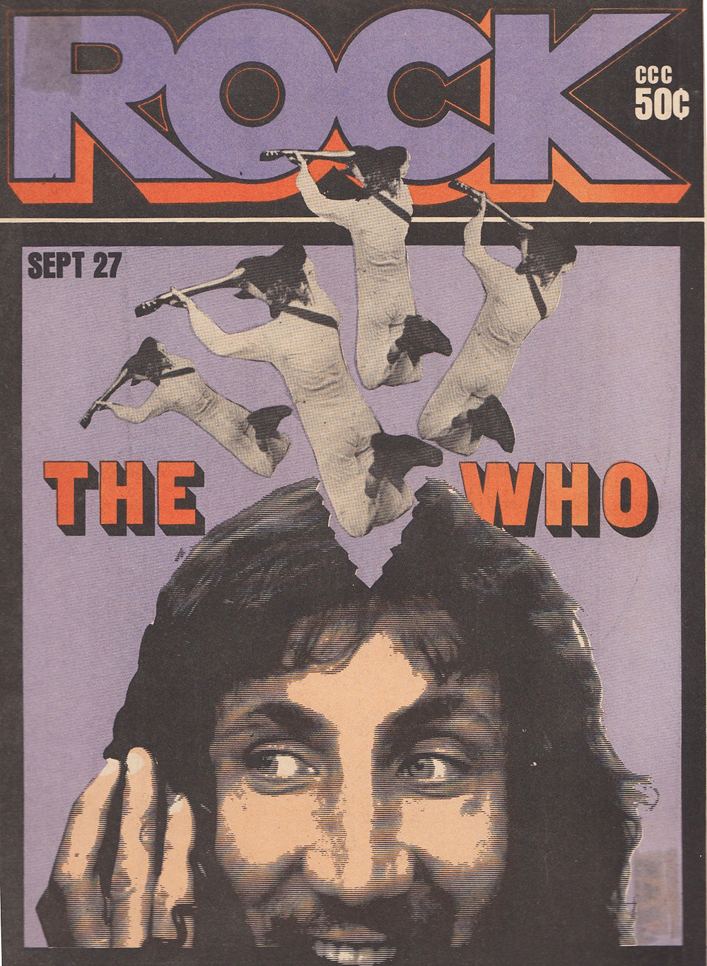 """Herb Lubalin's design to """"the who"""""""