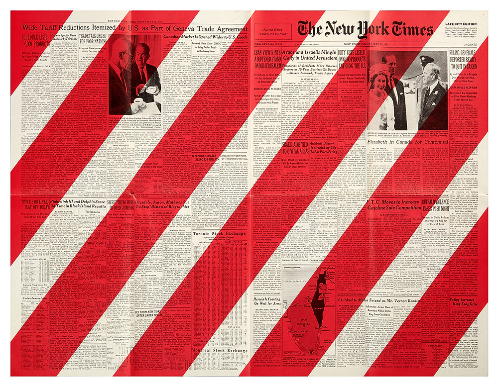 New York Times page