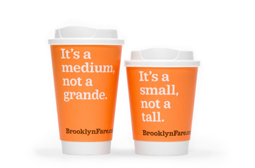 Brooklyn Fare branding by Matteo Bologna / Mucca Design