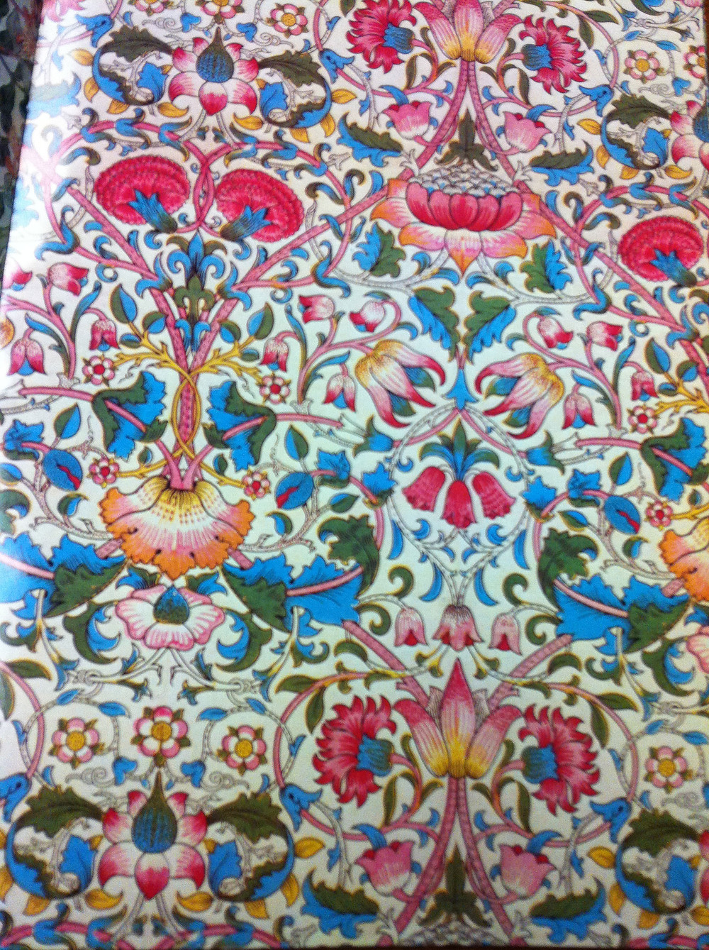 From Giftwrap by Artists: William Morris: http://www.amazon.com/Giftwraps-Artists-William-Joost-Elffers/dp/0810929503/ref=sr_1_1?ie=UTF8&qid=1355519565&sr=8-1&keywords=Giftwrap+by+Artists