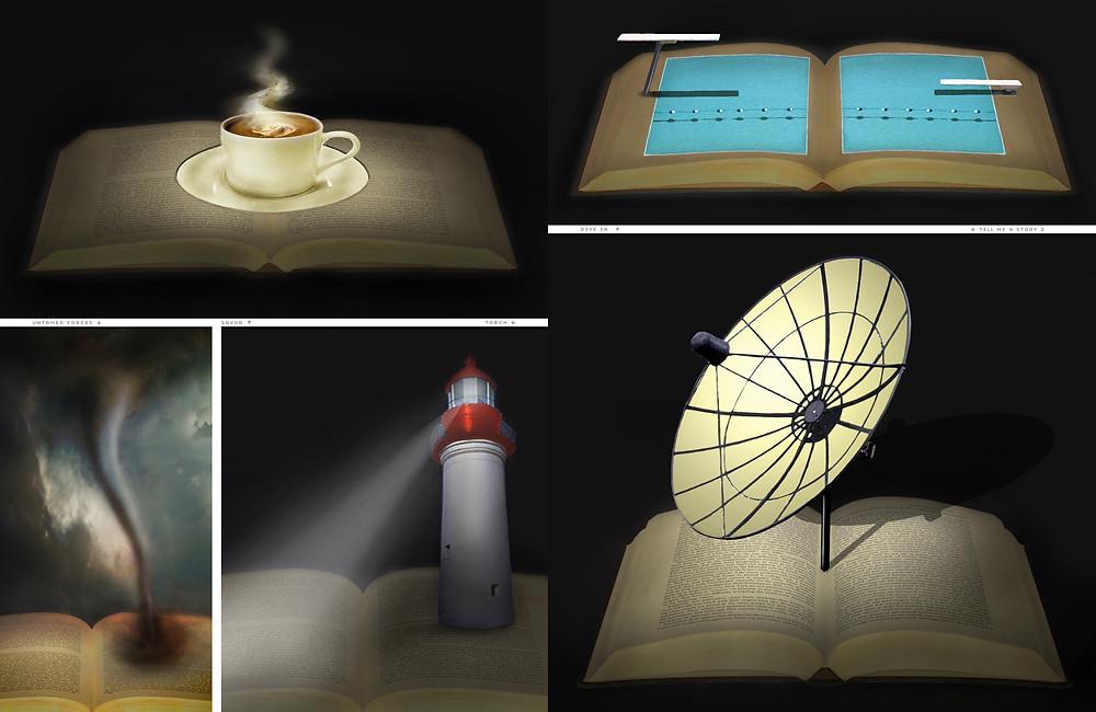 Illuminated Manuscripts 2nd spread