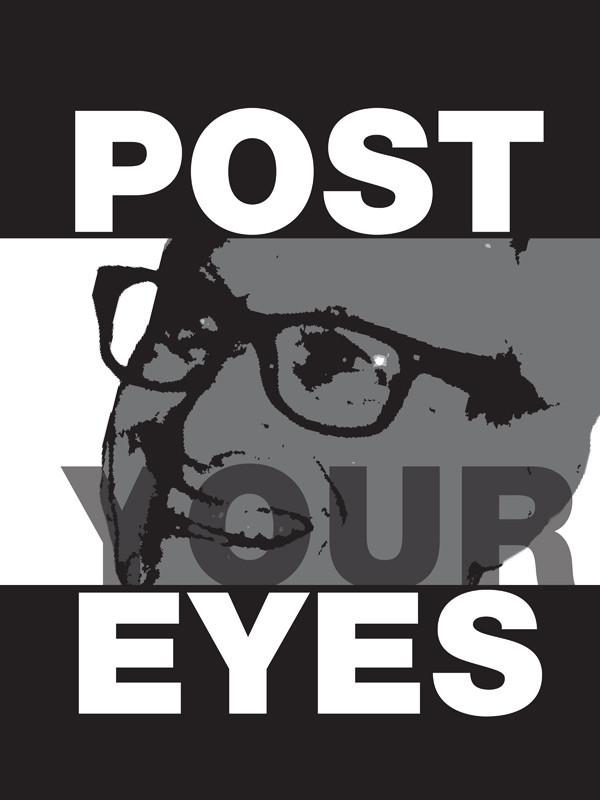 Robbie Conal Poster Roast; Tulsa Kinney