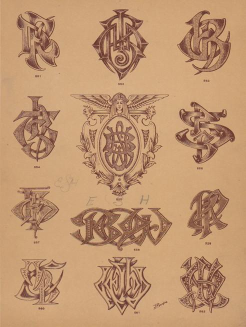 monograms 5