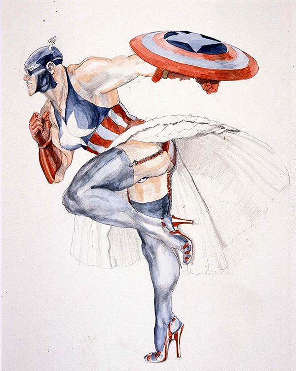 """""""Captain America 2,"""" 1997."""