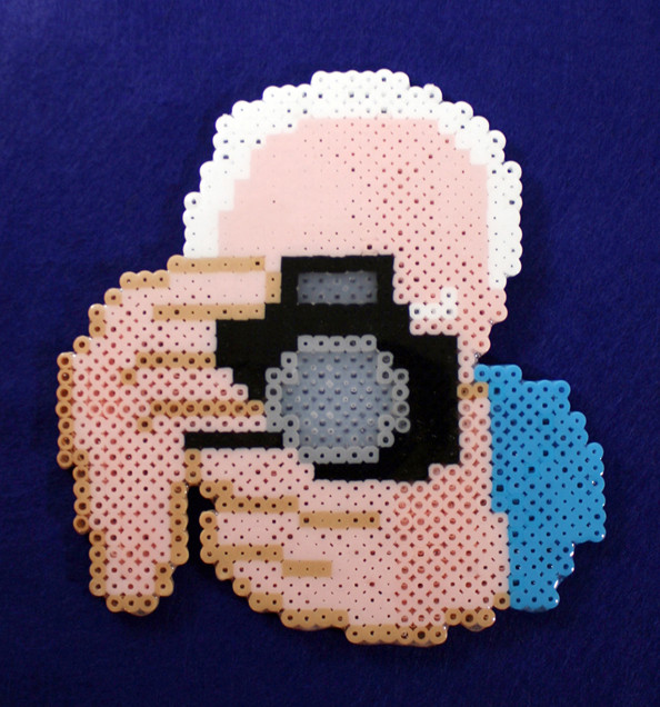 Bill Cunningham and camera