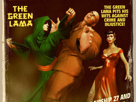The Green Lama Rides Again