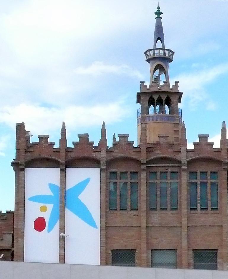 La Caixa. Miró's tapestry