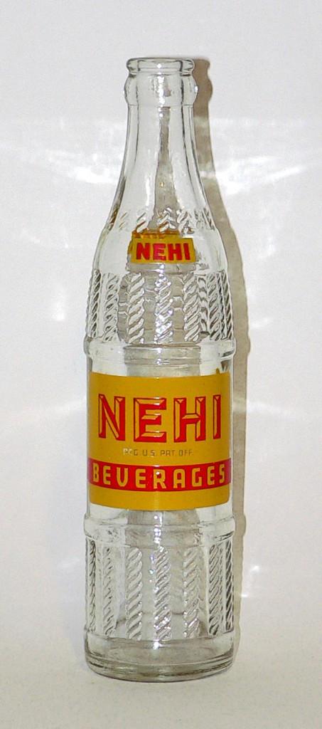 1940s Nehi bottle