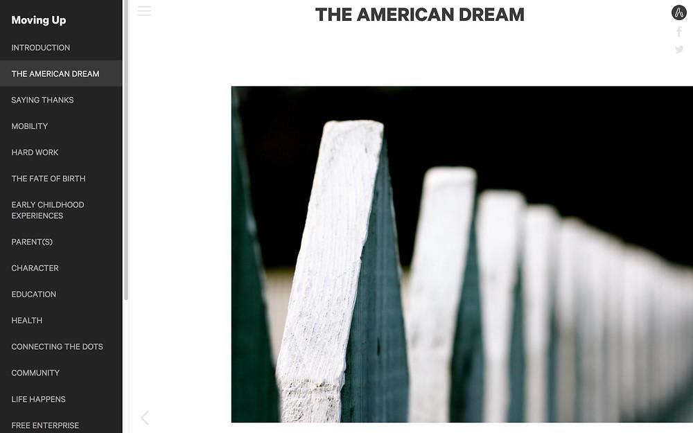 the american dream website