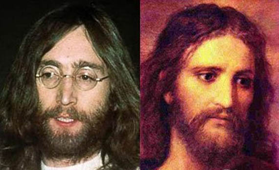 John Lennon and Jesus