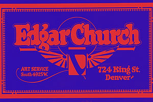 The Church Lettering Art Style