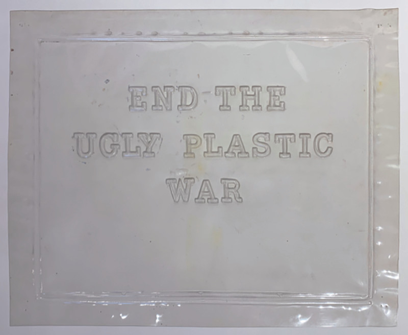 End the ugly plastic war