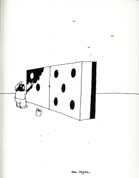 black and white Tomi Ungerer