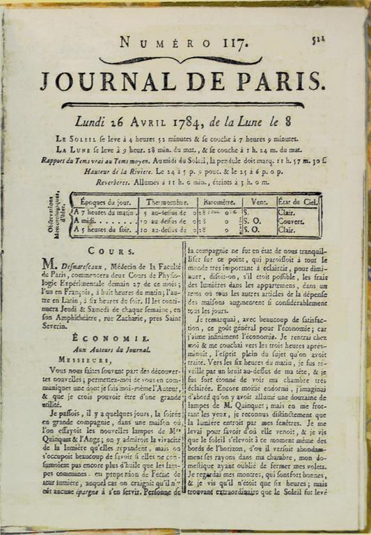 franklin-benjamin-journal-de-paris-1784