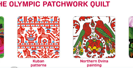 Pattern + Color in Winter 2014 Olympics
