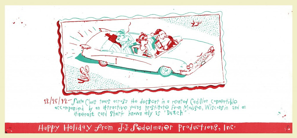 Happy holiday from J.J. Sedelmaier productions ,inc.