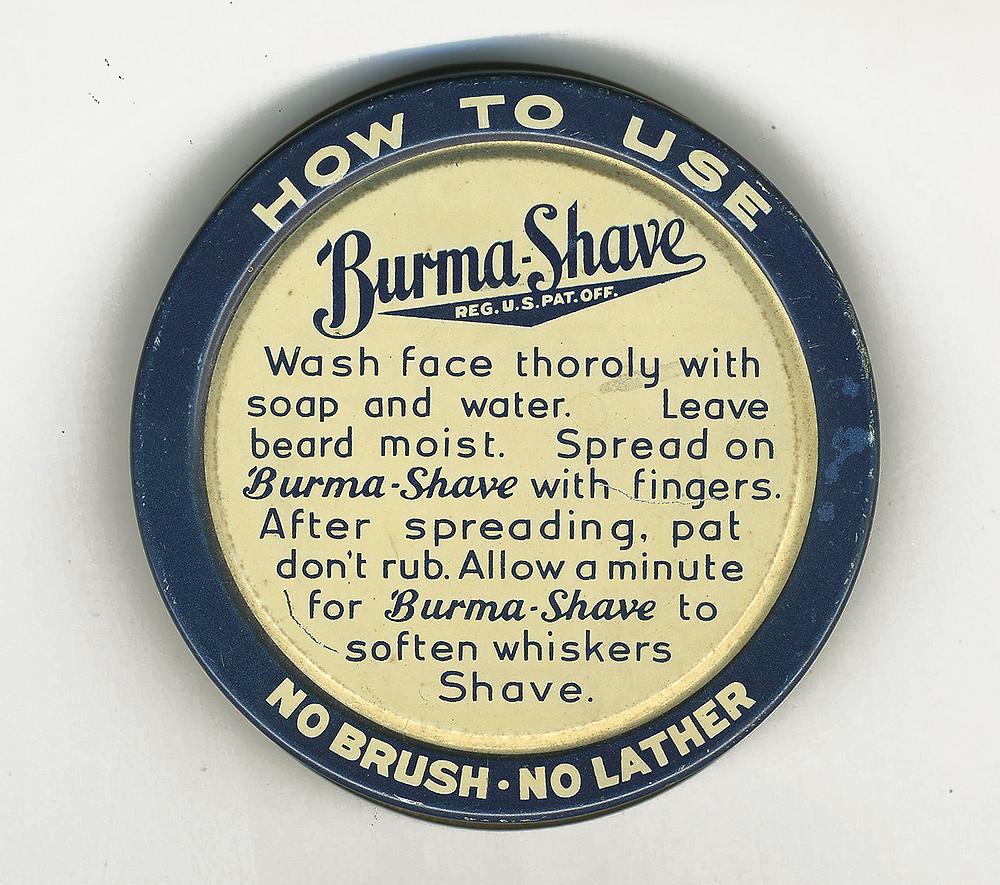 Burma-shave