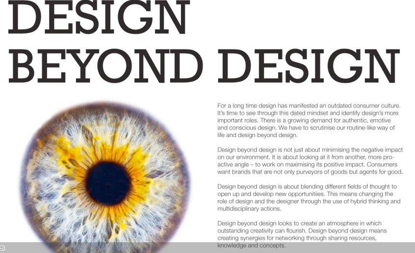 Design Beyond Design
