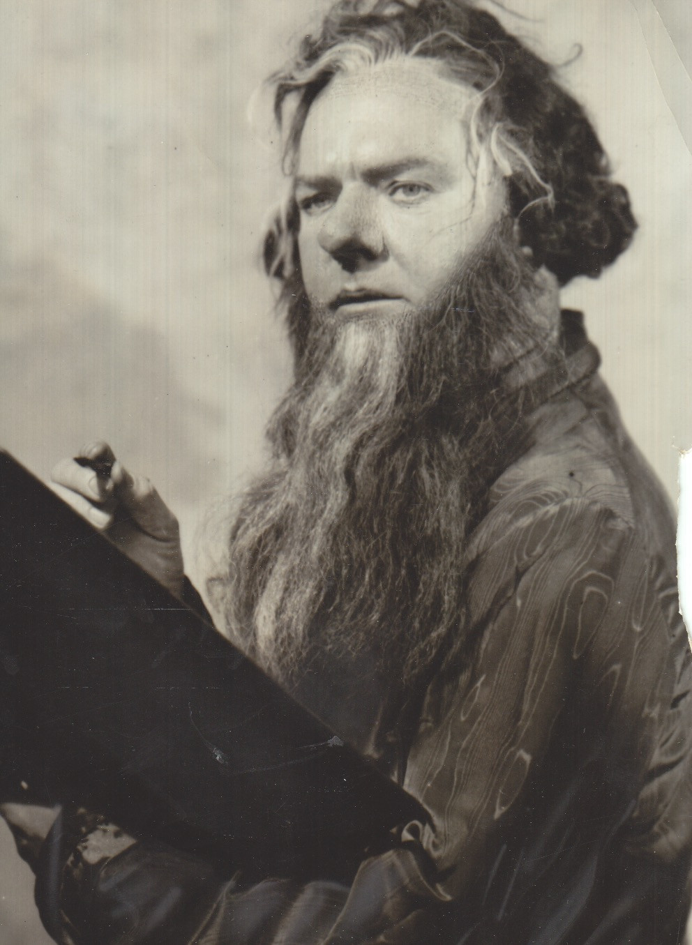 "W.C. Fields as Brigham Young in Earl Carroll's ""Vanities."""