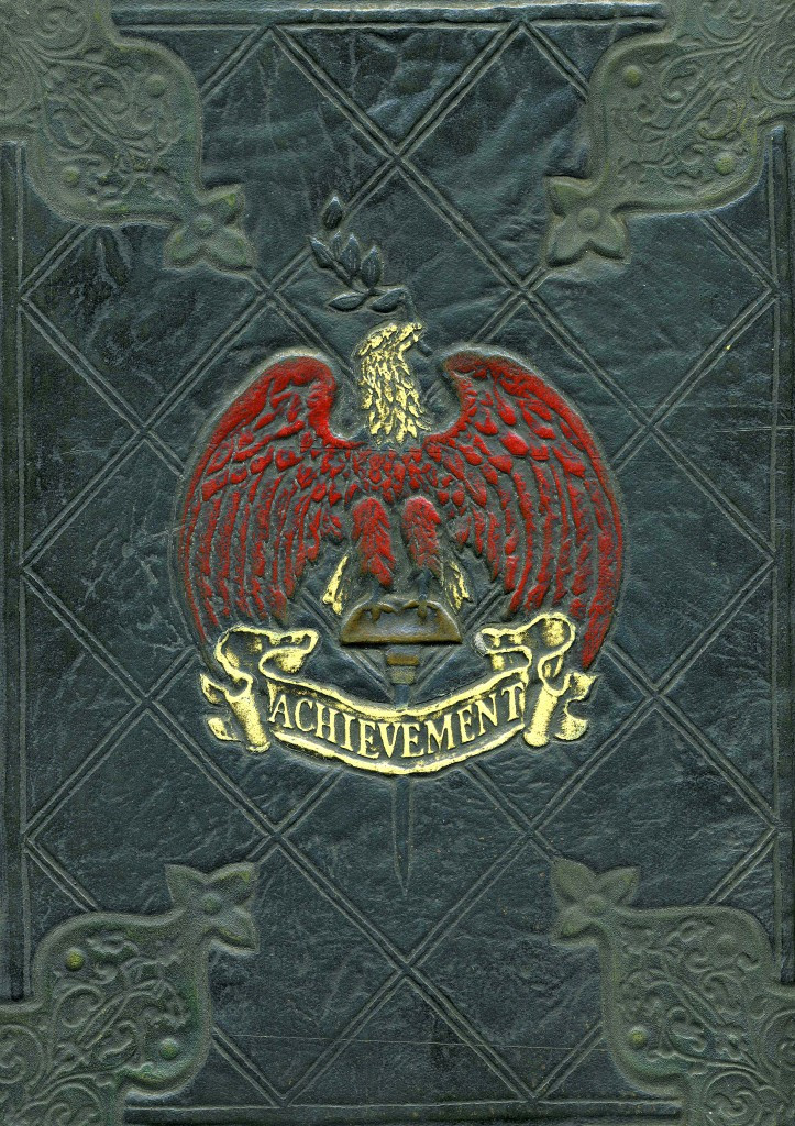 A close-up of the book's cover