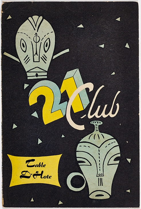 Photograph sleeve, Club 21: Table D'Hote