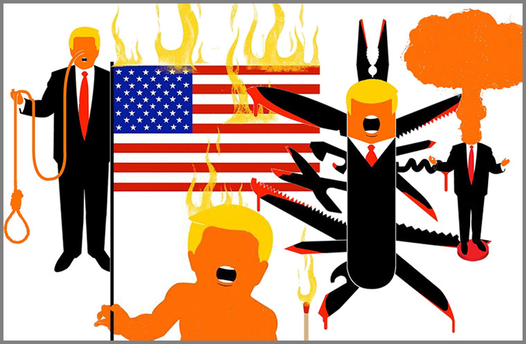 trump illustrations