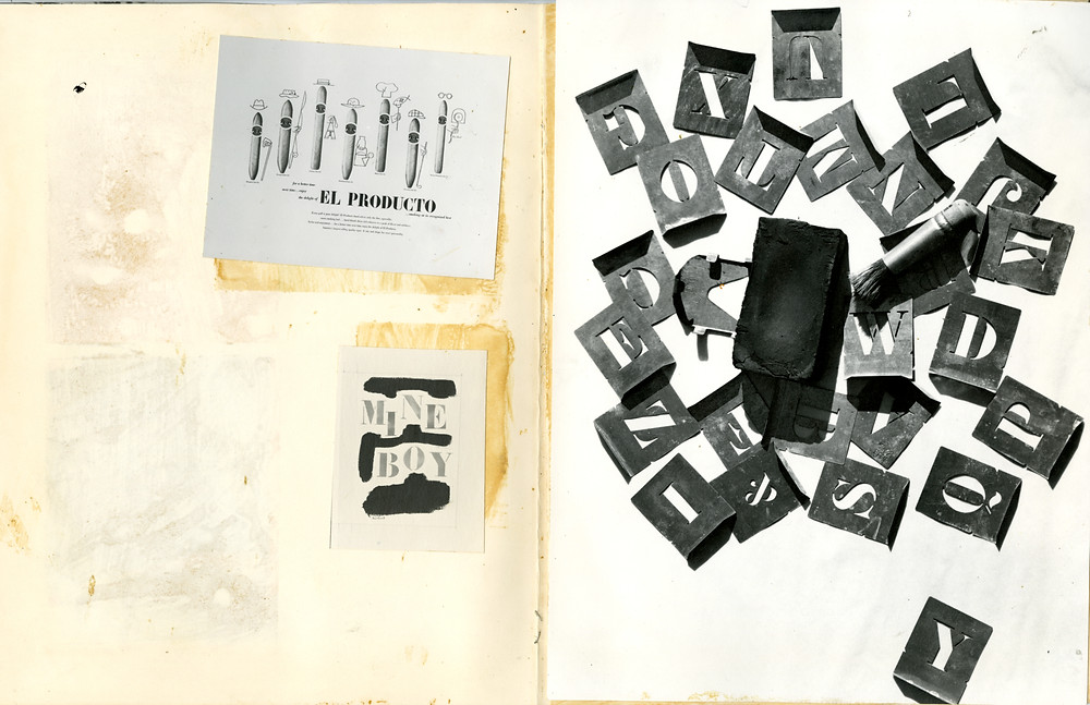 Paul Rand's untitled book photos