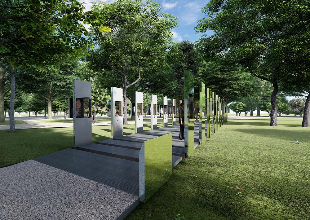 Daniel Libeskind designed a memorial at Auschwitz-Birkenhau State Museum.