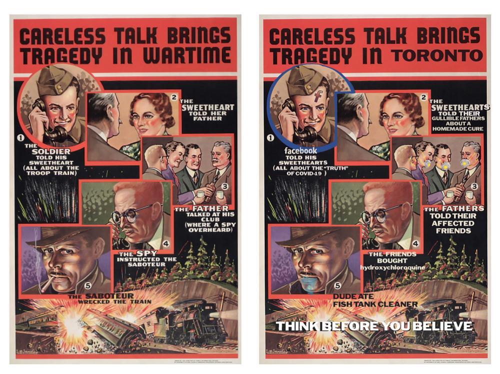Careless talk brings tragedy in wartime