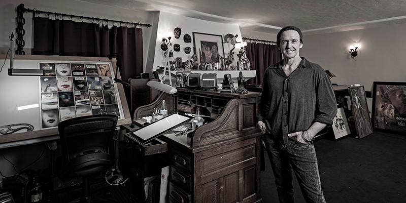 Bill Sienkiewicz photo by Greg Preston