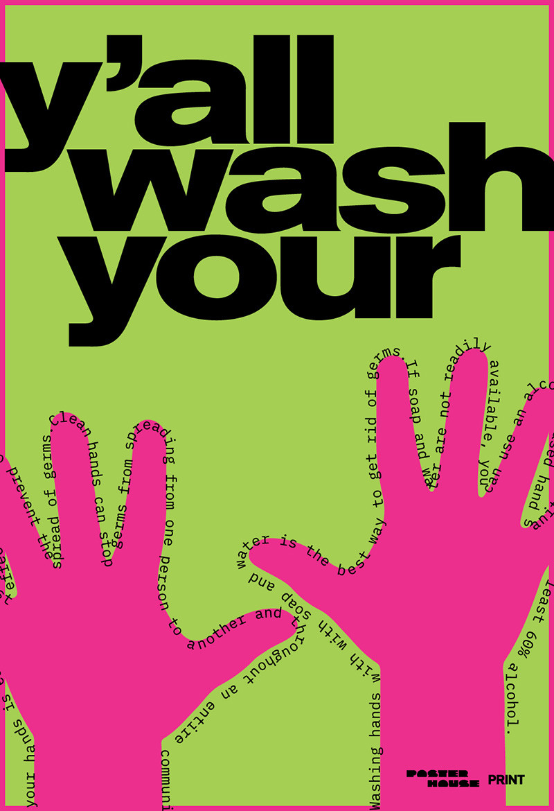 Old Baldych - wash your hands