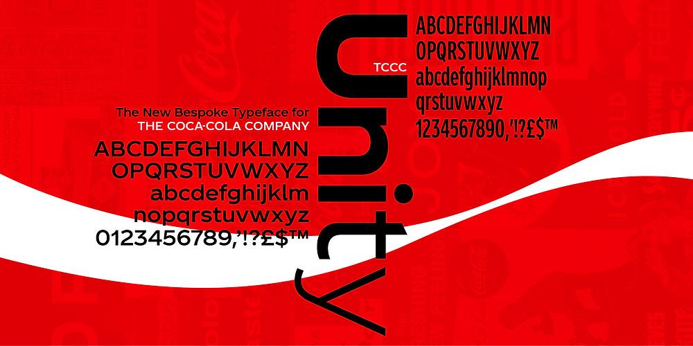 Coca Cola font upgrade
