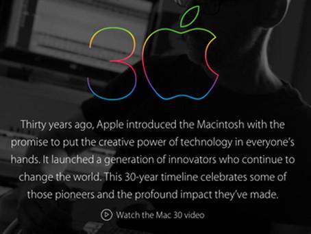 01/24/2014: Mac Turns 30