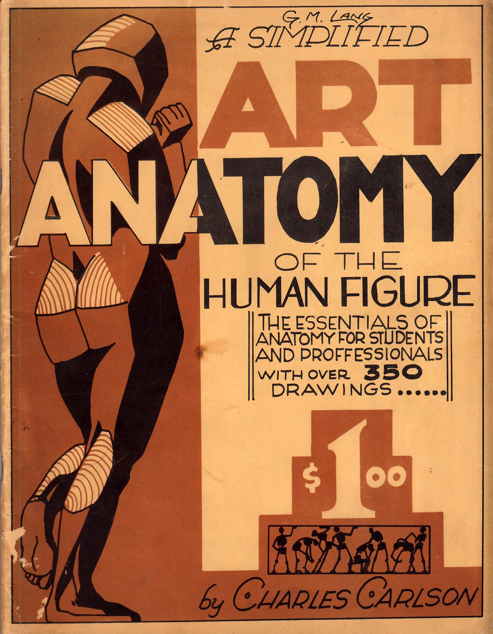 Charles Carlson a simplified art anatomy