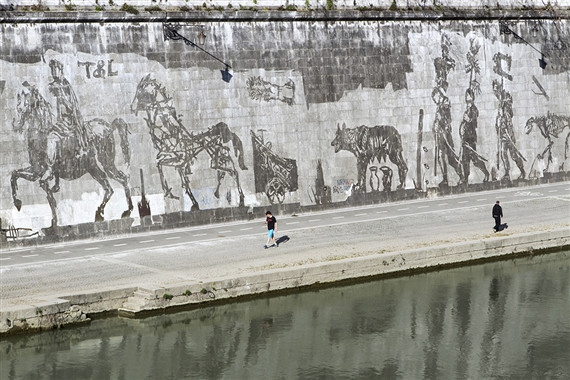 Triumphs and Laments by William Kentridge