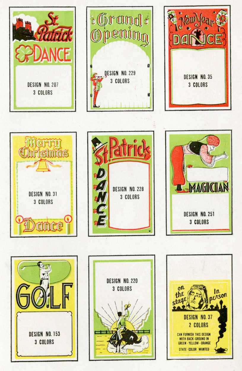 window cards designs